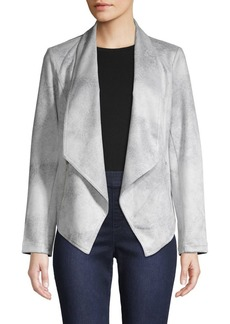 JONES NEW YORK Draped Front Jacket