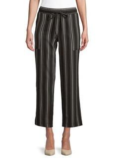 JONES NEW YORK Drawstring Capri Pants