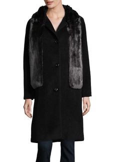 JONES NEW YORK Faux Fur Stole Jacket
