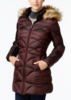Jones New York Faux-Fur-Trim Quilted Down Puffer Coat