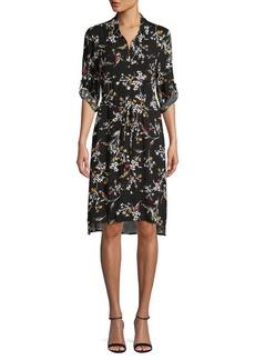 JONES NEW YORK Floral-Print Shirtdress
