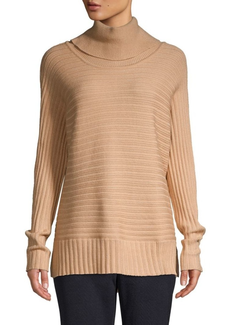 JONES NEW YORK High-Low Turtleneck Sweater