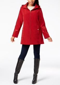 Jones New York Hooded Raincoat