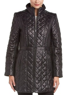 Jones New York Jones New York Quilted Leather J...