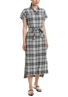 Jones New York Linen-Blend Shirtdress