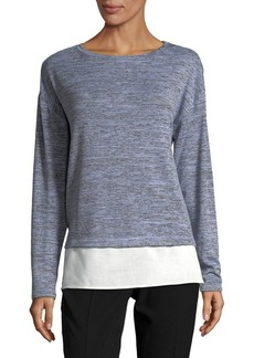 JONES NEW YORK Long-Sleeve Woven Top