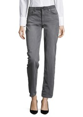 JONES NEW YORK Mid-Rise Straight-Leg Jeans