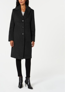 Jones New York Notch-Collar Walker Coat