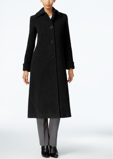 Jones New York Petite Wool-Blend Maxi Coat