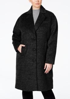 Jones New York Plus Size Brushed Peacoat
