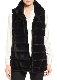 Jones New York Reversible Faux Fur Vest