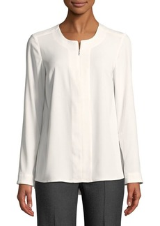 JONES NEW YORK Roundneck Blouse