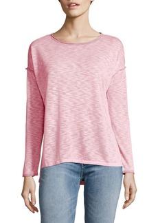 JONES NEW YORK Scoopneck Drop-Shoulder Sweater