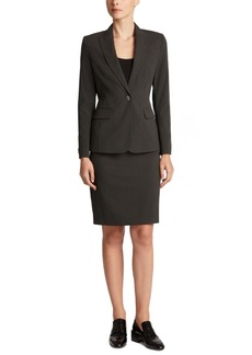 Jones New York Single-Button Blazer