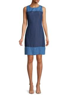 JONES NEW YORK Sleeveless A-Line Dress