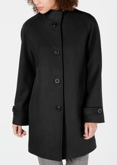 Jones New York Stand-Collar Coat