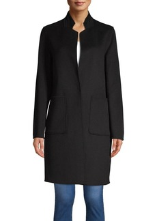JONES NEW YORK Stand Collar Walker Coat