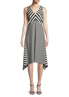 JONES NEW YORK Striped Knit Dress