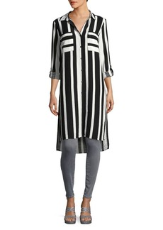 JONES NEW YORK Striped Long Tunic
