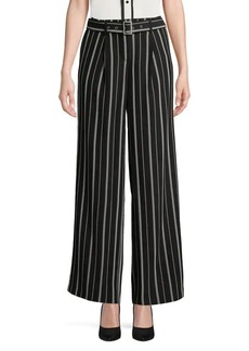 JONES NEW YORK Striped Wide Leg Pants