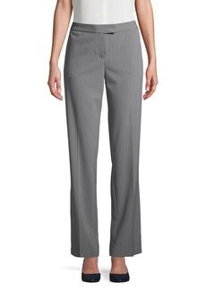 JONES NEW YORK Sydney Straight-Leg Pinstripe Pants