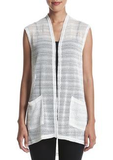 Jones New York® Textured Knit Vest