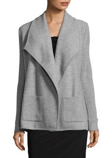 JONES NEW YORK Turndown Sweater Jacket