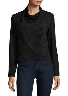 JONES NEW YORK Velvet Drape Jacket