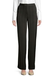 JONES NEW YORK Wide-Leg Striped Pants