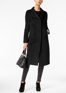 Jones New York Wing-Collar Maxi Coat