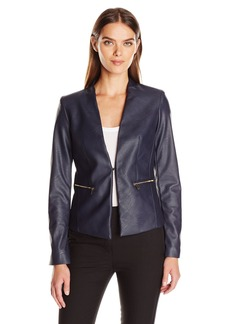 Jones New York Women's Blazer with Zips