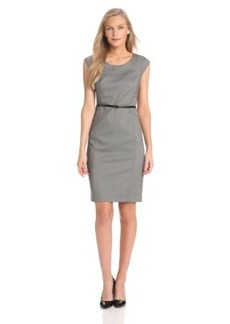 Jones New York Women's Brooke Birdseye Cap Sleeve Dress