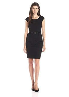 Jones New York Women's Brooke Cap Sleeve Dress