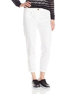 Jones New York Women's Capri with Zip Hem Detail