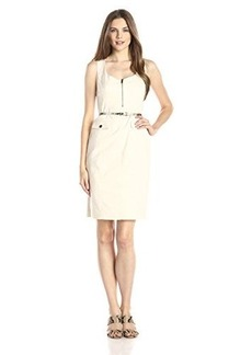 Jones New York Women's Cargo Sheath Dress