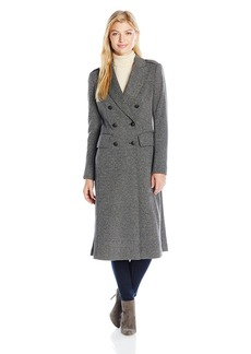 Jones New York Women's City Herringbone Long Coat