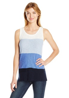 Jones New York Women's Color Blocked Sweater Tank  S