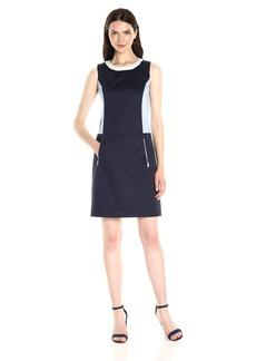 Jones New York Women's Colorblocked Sheath Dress