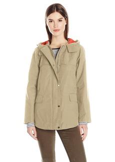 Jones New York Women's Cotton Bonded Water Repellent Jacket  S