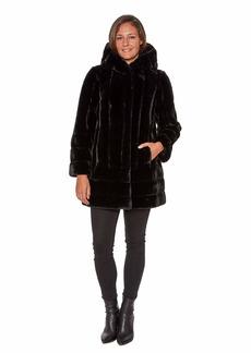 Jones New York Women's Cozy Warm Fashion Winter Coat  M