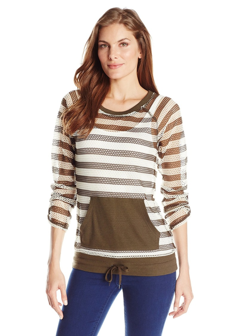 Jones New York Women's Crew-Neck Pullover Shirt