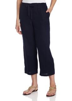 Jones New York Women's Crop Pant with Elastic Waist