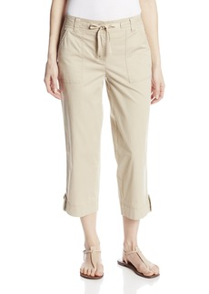 Jones New York Women's Cropped Cargo Pant