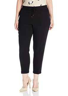 Jones New York Women's Cuffed Capri Track Pant