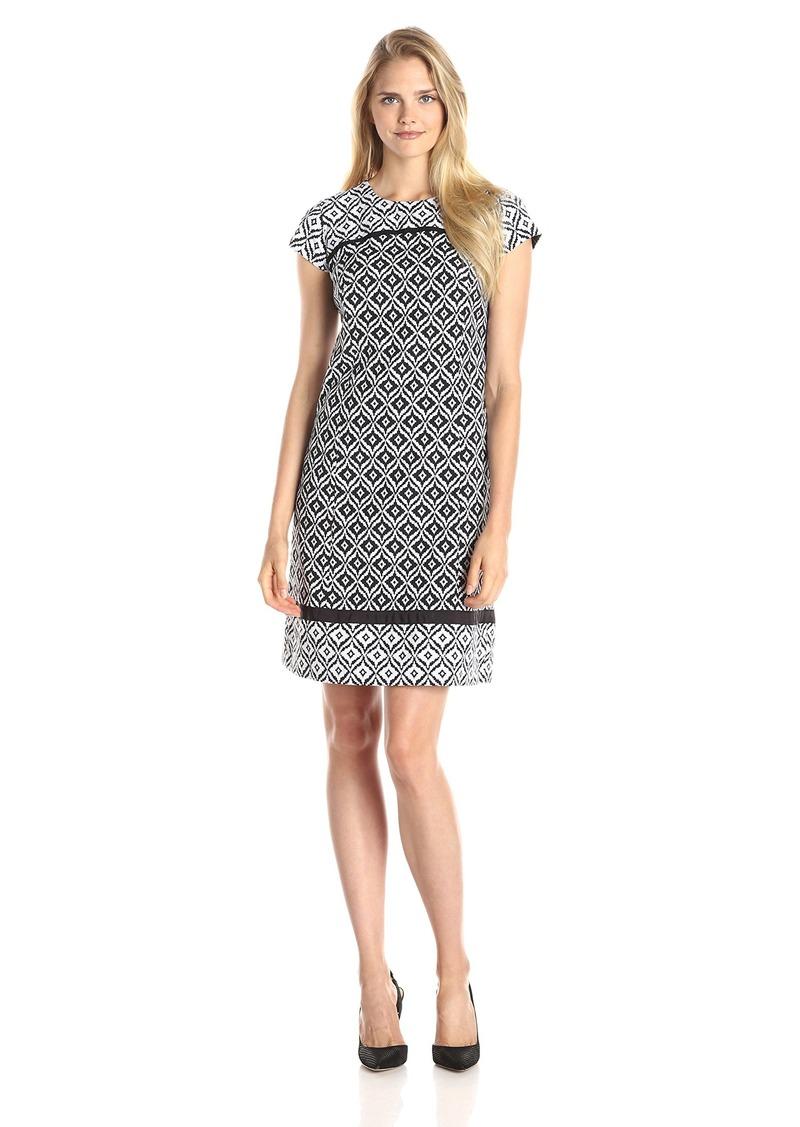 Jones New York Women's Cutout-Back Dress
