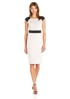 Jones New York Women's Double Knit Combo Dress