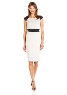 Jones New York Women's Double Knit Combo Dress