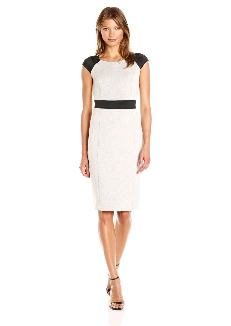 Jones New York Women S Double Knit Combo Dress