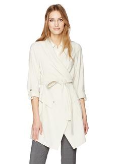 Jones New York Women's Drapey Twill Jacket  XS