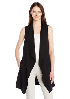 Jones New York Women's Drapey Vest  M
